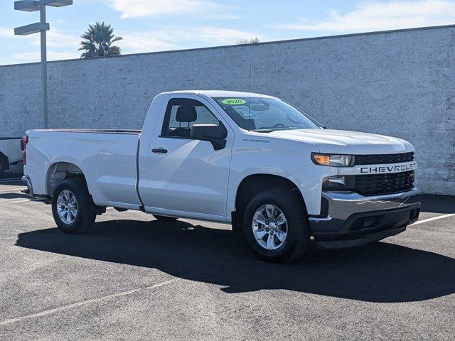 """2020 Chevrolet Silverado 1500 Work Truck 2WD Reg Cab 140"""" Work Truck Gas V8 5.3L/325 [6]"""