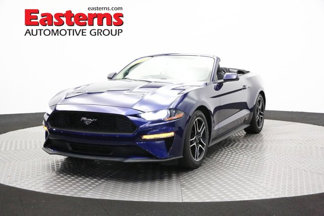2019 Ford Mustang EcoBoost Manual Convertible