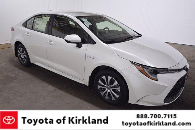 New 2021 Toyota Corolla in Kirkland, WA