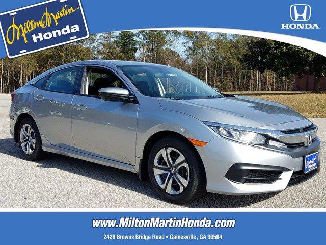 New 2018 Honda Civic Sedan in Gainesville, GA