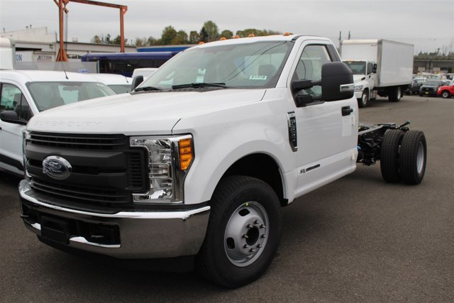New 2017 Ford Super Duty F-350 DRW XL 2WD Reg Cab 169 WB 84 CA