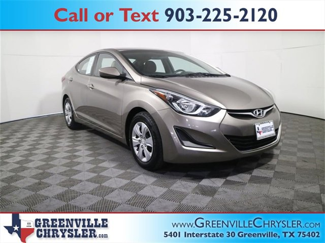 Used 2016 Hyundai Elantra in Greenville, TX