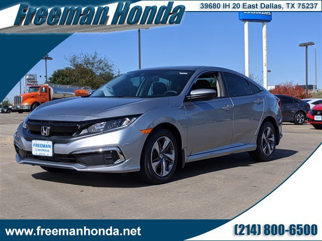 New 2020 Honda Civic Sedan in Dallas, TX
