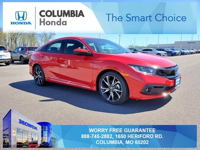 New 2019 Honda Civic Sedan in Columbia, MO