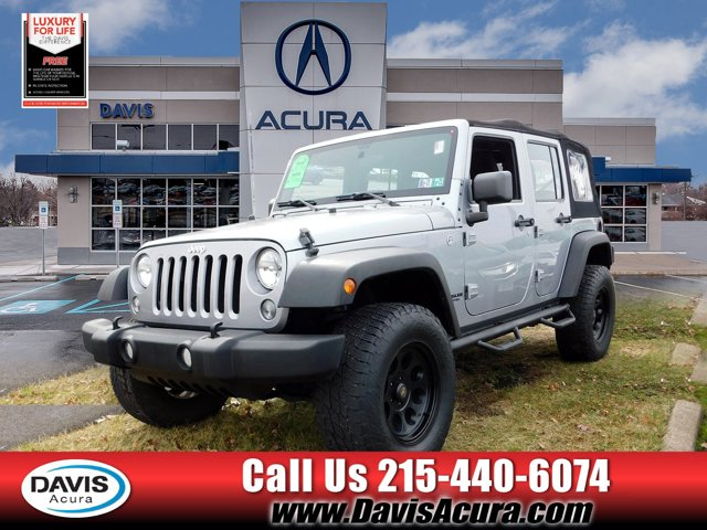 Used 2015 Jeep Wrangler Unlimited in Langhorne, PA