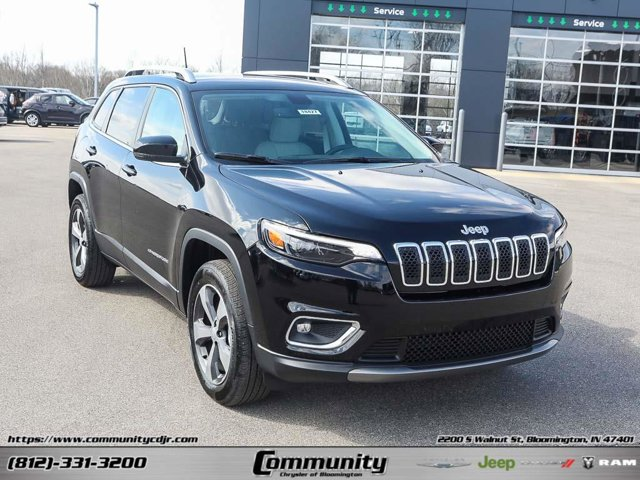 New 2020 Jeep Cherokee in Bloomington, IN