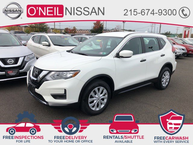 2017 Nissan Rogue S 2017.5 AWD S Regular Unleaded I-4 2.5 L/152 [9]
