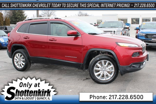 Used 2016 Jeep Cherokee in Quincy, IL