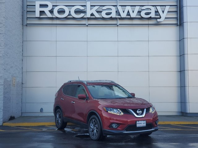2016 Nissan Rogue SL ALMOND  LEATHER-APPOINTED SEAT TRIM U35 NAVIGATION MANUAL L92 FLOOR MATS