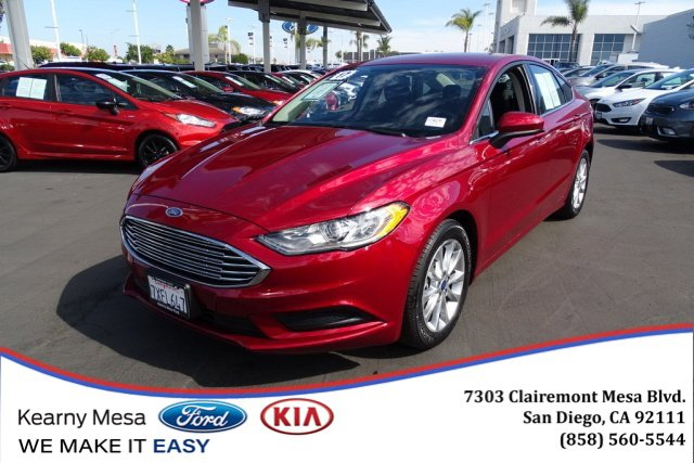 Used 2017 Ford Fusion in San Diego, CA