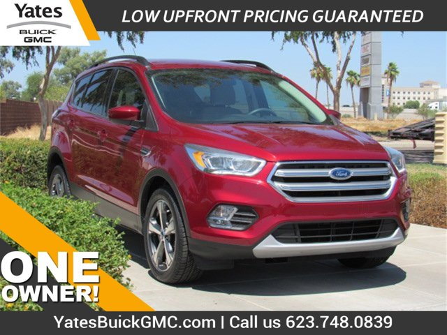 2017 Ford Escape SE SE FWD Intercooled Turbo Regular Unleaded I-4 1.5 L/91 [0]