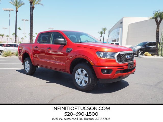 2019 Ford Ranger XLT XLT 2WD SuperCrew 5' Box Intercooled Turbo Regular Unleaded I-4 2.3 L/140 [13]