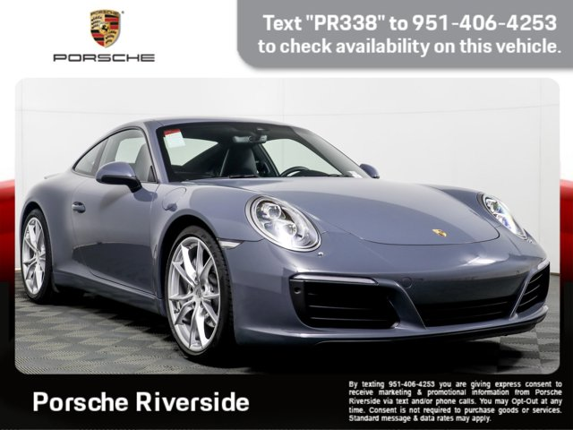 2017 Porsche 911 Carrera Carrera Coupe 3.0L Twin Turbo H-6 [1]
