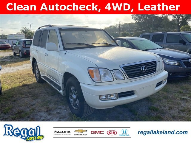 Used 2002 Lexus LX 470 in Lakeland, FL