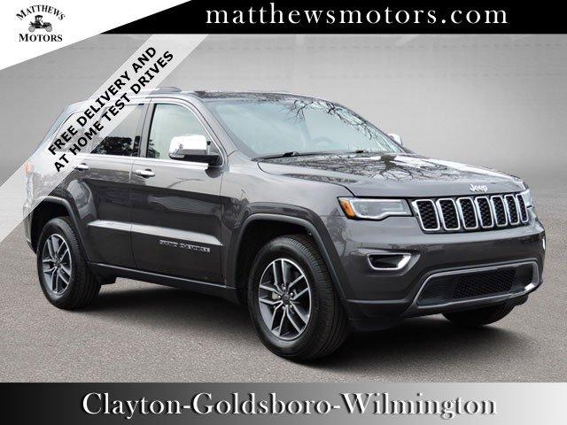 2019 Jeep Grand Cherokee Limited 2WD w/ Nav & Panoramic Sunroof