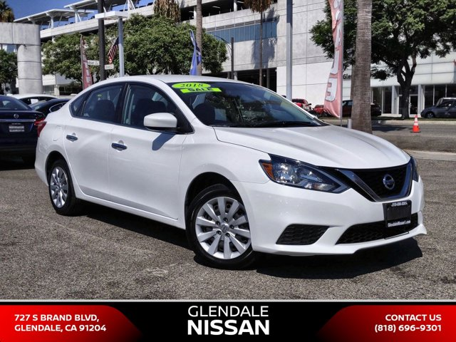 2018 Nissan Sentra S S CVT Regular Unleaded I-4 1.8 L/110 [10]
