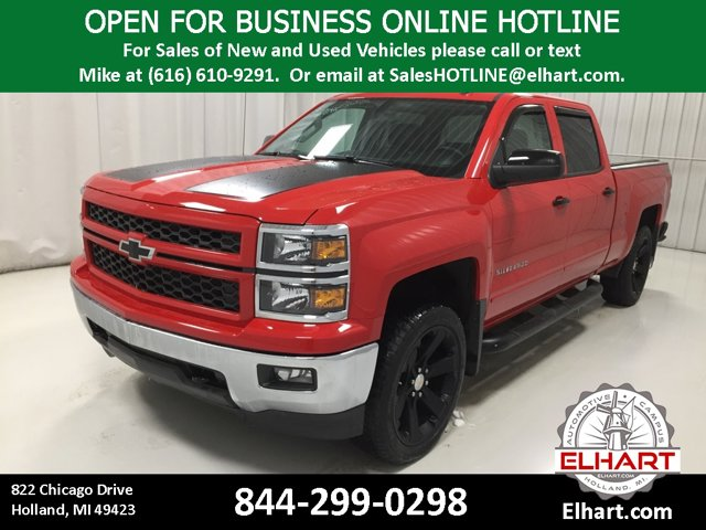 Used 2015 Chevrolet Silverado 1500 in Holland, MI