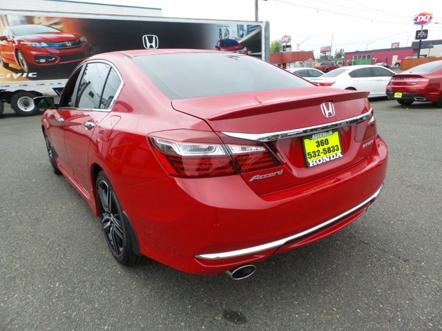 New 2017 Honda Accord Sedan Sport CVT w-Honda Sensing