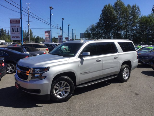 Used 2017 Chevrolet Suburban 4WD 4dr 1500 LT