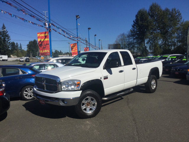 Used 2007 Dodge Ram 3500 4WD Quad Cab SRW SLT