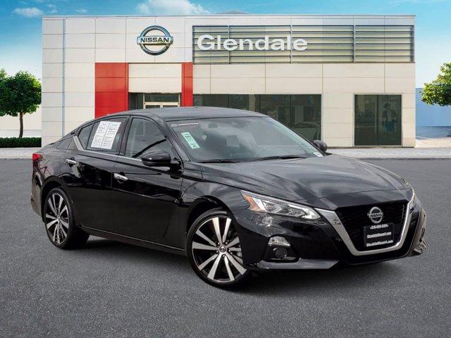 2020 Nissan Altima 2.5 Platinum 2.5 Platinum Sedan Regular Unleaded I-4 2.5 L/152 [1]