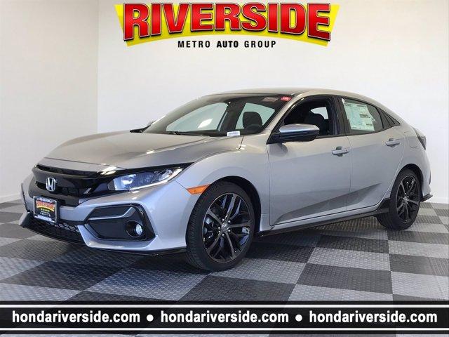 2021 Honda Civic Hatchback Sport Sport CVT Intercooled Turbo Premium Unleaded I-4 1.5 L/91 [5]