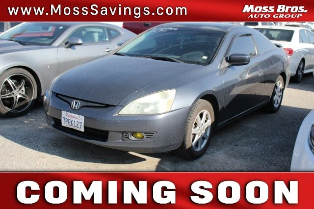 2003 Honda Accord Cpe EX EX Auto V6 w/Leather Gas V6 3.0L/183 [6]