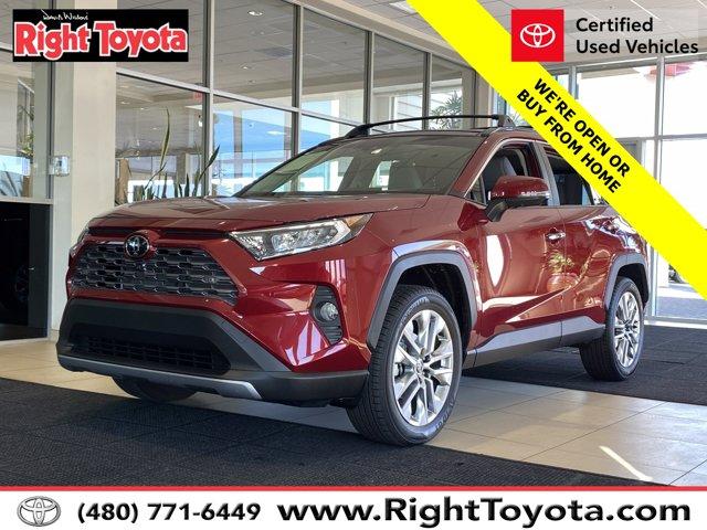 2020 Toyota RAV4 Limited Limited AWD Regular Unleaded I-4 2.5 L/152 [13]