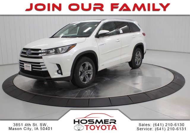 New 2019 Toyota Highlander Hybrid in Mason City, IA