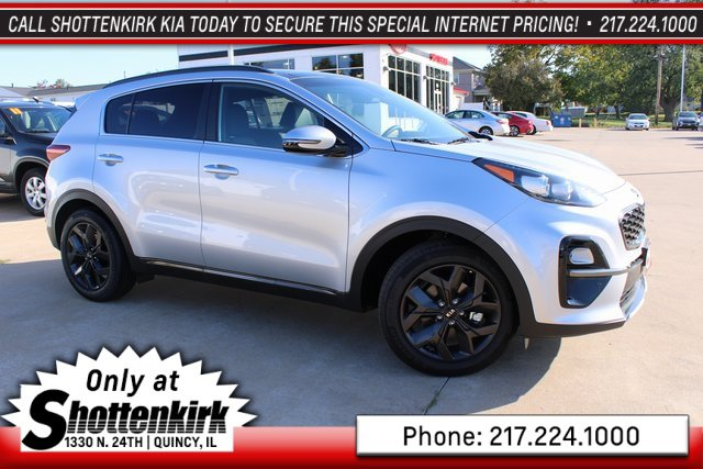 New 2020 KIA Sportage in Quincy, IL