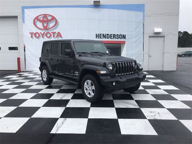 Used 2018 Jeep Wrangler Unlimited in Henderson, NC
