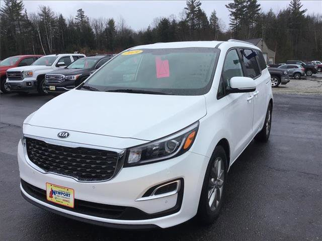 2019 Kia Sedona EX SNOW WHITE PEARL CARPETED FLOORMATS Front Wheel Drive Power Steering ABS 4-