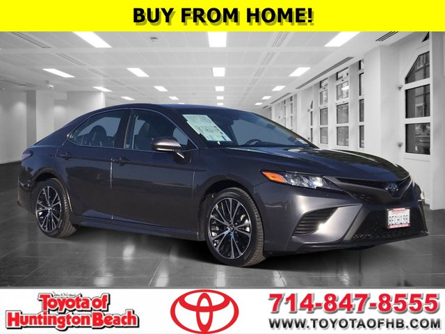 2018 Toyota Camry SE SE Auto Regular Unleaded I-4 2.5 L/152 [8]