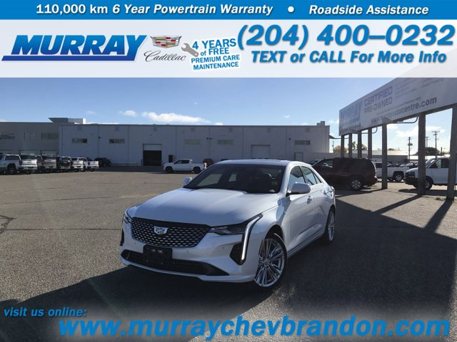 2020 Cadillac CT4 Premium Luxury 4dr Sdn Premium Luxury Turbocharged I4 2.0L/ [4]