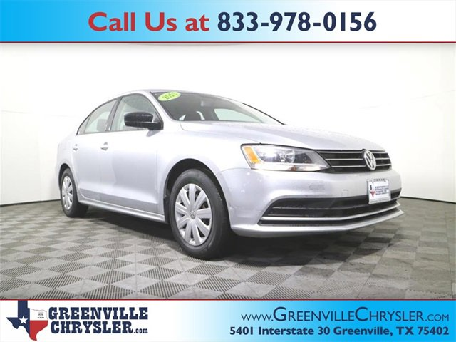 Used 2015 Volkswagen Jetta Sedan in Greenville, TX