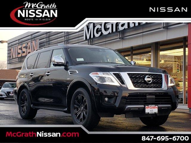 2020 Nissan Armada Platinum 4x4 Platinum Regular Unleaded V-8 5.6 L/339 [0]