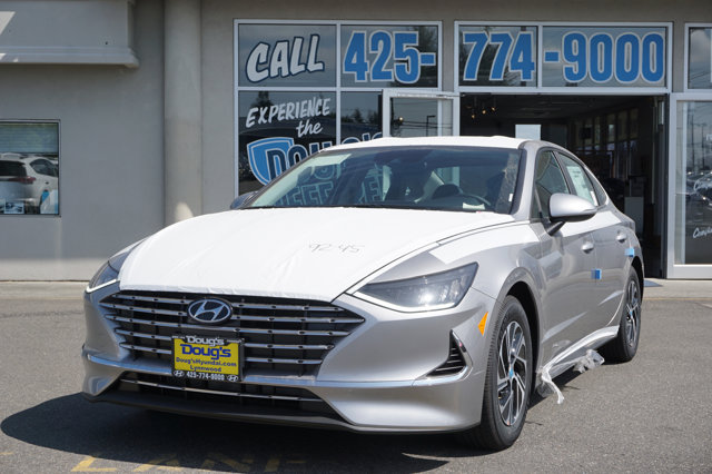 New 2020 Hyundai Sonata Hybrid in Lynnwood Seattle Kirkland Everett, WA