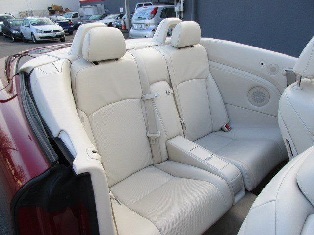 Photo 21 of this used 2010 Lexus IS 350C vehicle for sale in San Rafael, CA 94901