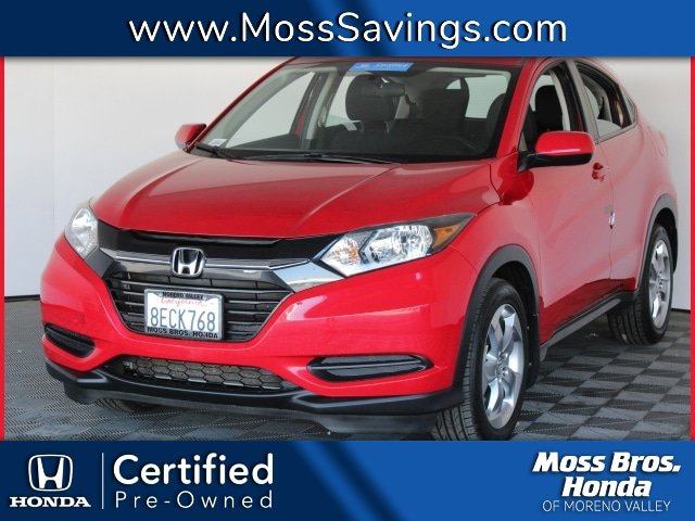 2018 Honda HR-V LX LX 2WD CVT Regular Unleaded I-4 1.8 L/110 [2]