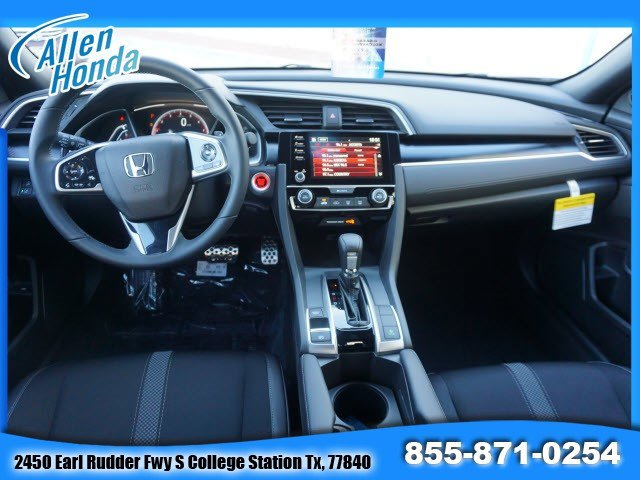 New 2020 Honda Civic Sedan in College Station, TX