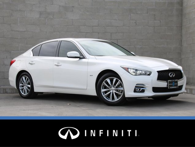 2017 INFINITI Q50 2.0t 2.0t RWD Intercooled Turbo Premium Unleaded I-4 2.0 L/121 [1]