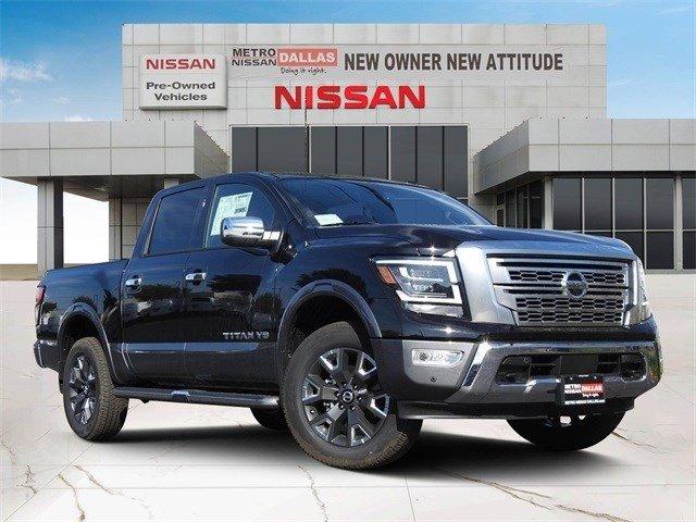2020 Nissan Titan Platinum Reserve 4x4 Crew Cab Platinum Reserve Premium Unleaded V-8 5.6 L/339 [16]