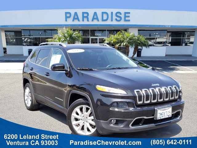 2015 Jeep Cherokee Limited FWD 4dr Limited Regular Unleaded V-6 3.2 L/198 [11]