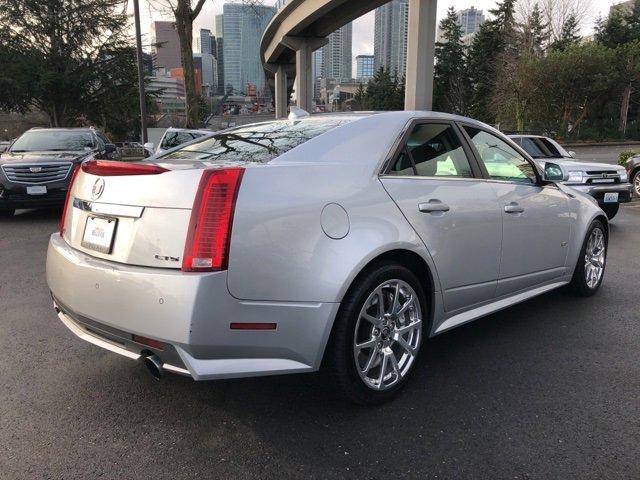 2009 Cadillac CTS-V 4dr Sdn