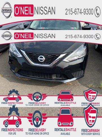 2018 Nissan Sentra SV SV CVT Regular Unleaded I-4 1.8 L/110 [7]