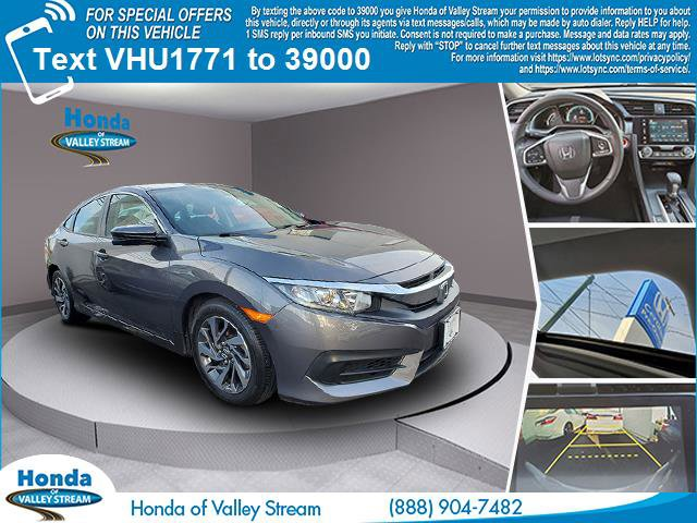 2017 Honda Civic Sedan EX EX CVT Regular Unleaded I-4 2.0 L/122 [13]