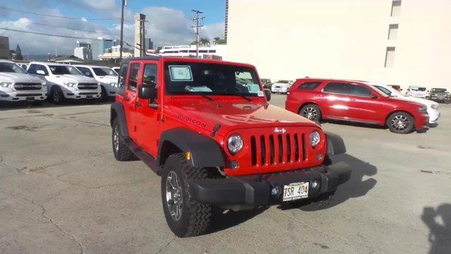 Used 2017 Jeep Wrangler Unlimited in Honolulu, HI