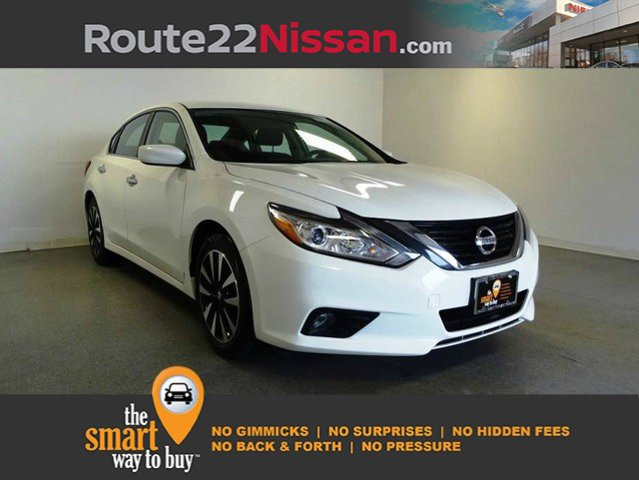 2018 Nissan Altima 2.5 SV 2.5 SV Sedan Regular Unleaded I-4 2.5 L/152 [12]