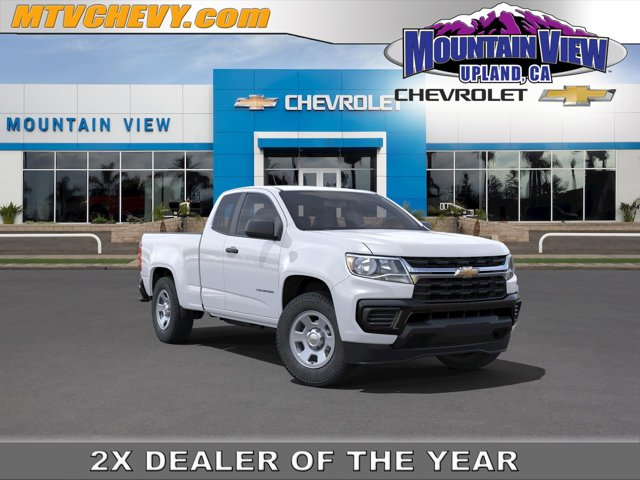 """2021 Chevrolet Colorado 2WD Work Truck 2WD Ext Cab 128"""" Work Truck Gas V6 3.6L/ [5]"""