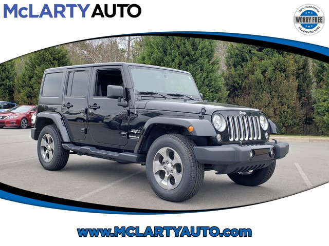 Used 2018 Jeep Wrangler JK Unlimited in North Little Rock, AR